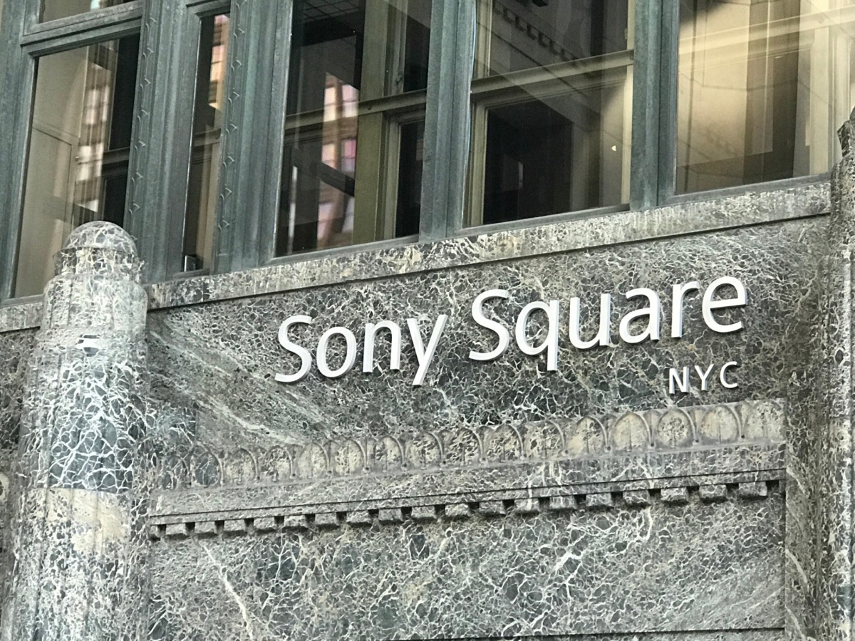 The Sony Square NYC building.